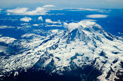 Mount Ranier, Washington royalty free stock photography