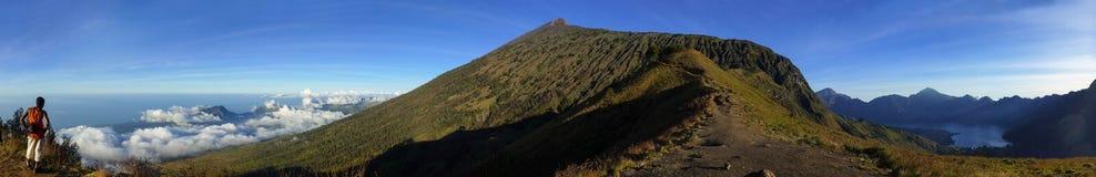 Mount Rinjani Royalty Free Stock Photography