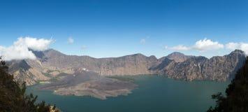 Mount Rinjani Top Stock Images