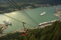 Mount Roberts Tramway Juneau Alaska Royalty Free Stock Images
