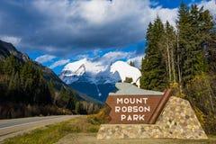 Mount Robson Stock Image