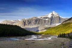 Mount Robson Provincial Park, Canadian Rockies Stock Photos