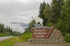 Mount Robson Provincial Park Stock Photography