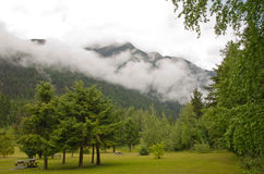 Mount Robson Provincial Park Royalty Free Stock Photos