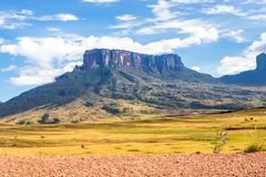 Mount Roraima. In Venezuela, South America Royalty Free Stock Photo