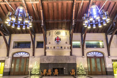 Mount Royal Chalet interior Royalty Free Stock Image
