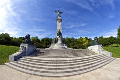 Mount Royal statue Royalty Free Stock Images