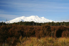 Mount Ruapehu Stock Photo