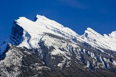Mount Rundle Royalty Free Stock Photo