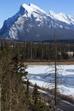Mount Rundle Stock Photos