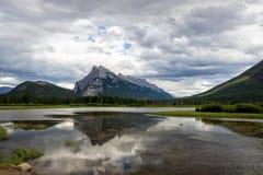 Mount Rundle, Banff, Alberta. Mount Rundle, Banff National Park, Alberta, Canada Royalty Free Stock Images