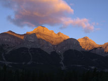 Mount Rundle Royalty Free Stock Image