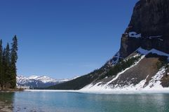 Mount Rundle in Banff National Park Stock Photography