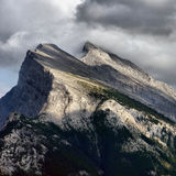 Mount Rundle Royalty Free Stock Photography