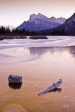 Mount Rundle Reflections Royalty Free Stock Images