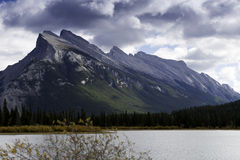 Mount Rundle Stock Photography