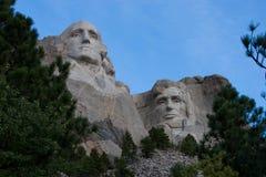 Mount Rushmore Вашингтон и Линкольн стоковые изображения rf
