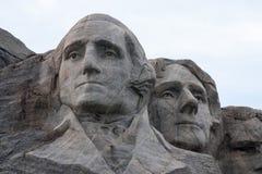 Mount Rushmore Вашингтон и Jefferson стоковые изображения rf