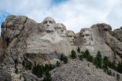 Mount Rushmore в лете стоковые фото