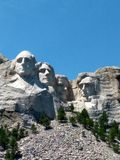 Mount Rushmore royaltyfri bild