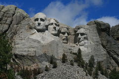Mount Rushmore. Monument, South Dakota Stock Photo
