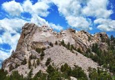 Mount Rushmore. Presidential Sculpture At Mount Rushmore National Monument, South Dakota stock images
