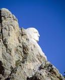 Mount Rushmore. George Washington on Mount Rushmore, South Dakota Royalty Free Stock Photos