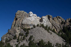 Mount Rushmore. National Monument on a clear morning Royalty Free Stock Photography