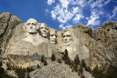 Mount Rushmore. Presidential sculpture at Mount Rushmore National Monument, South Dakota Stock Images
