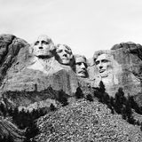 Mount Rushmore. Stock Image