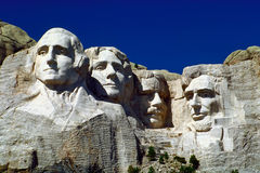 Mount Rushmore. American Sculpture Mount Rushmore in the Black Hills of South Dakota Royalty Free Stock Photo