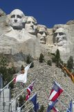 mount rushmore Obrazy Royalty Free