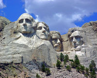 Mount Rushmore royalty free stock photos