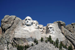 Mount Rushmore. In South Dakota Stock Image