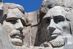 Mount Rushmore. With Roosevelt and Lincoln Stock Photography