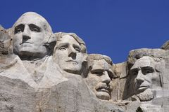Mount Rushmore Royalty Free Stock Image