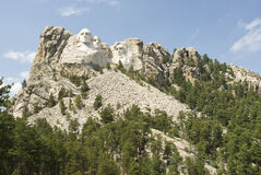 Mount Rushmore 8. Full view of Mount Rushmore National Monument in the Black Hills of South Dakota Stock Image