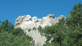 Mount Rushmore Royaltyfria Foton