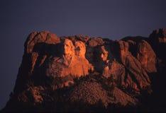 Mount Rushmore. South dakota in earlymorning light Royalty Free Stock Images