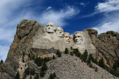 Mount Rushmore. Against blue sky Royalty Free Stock Images