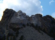 Mount Rushmore in all its magnificence royalty free stock images