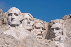 Mount Rushmore closeup Stock Photo