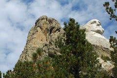 Mount Rushmore Geoege Washington 2 Royaltyfria Bilder