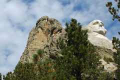 Mount Rushmore George Washington 2 Royalty Free Stock Images