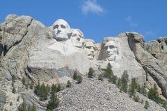 MOUNT RUSHMORE. A landscape photo of Mount Rushmore stock photo