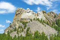 Mount Rushmore Landscape, South Dakota royalty free stock photos