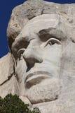 Mount Rushmore Lincoln Closeup fotografering för bildbyråer