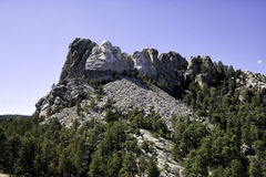 Mount Rushmore medborgareminnesmärke South Dakota arkivbild