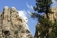 Mount Rushmore memorial Stock Photo