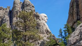 Mount Rushmore Monument stock photography